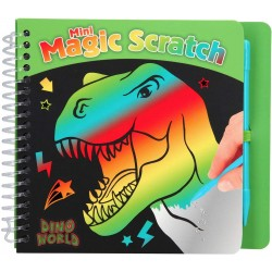 MINI MAGIC SCRATCH DINOSAURIO