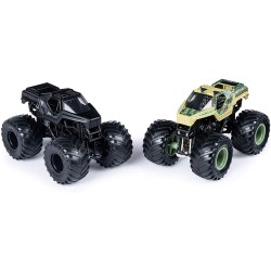MONSTER JAM PACK DE DOS VEHICULOS