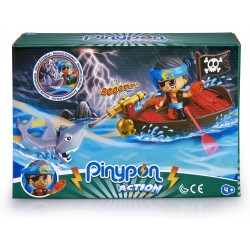 PINYPON ACTION BOTE PIRATA CON 2 FIGURAS