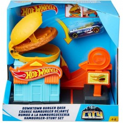 HOT WHEELS RUMBO A LA HAMBURGUESERIA