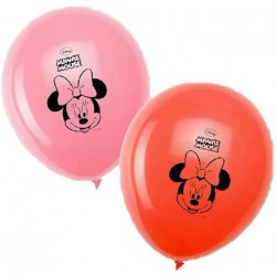MINNIE MOUSE SET 8 GLOBOS