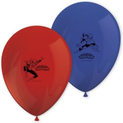 SPIDER MAN SET 8 GLOBOS