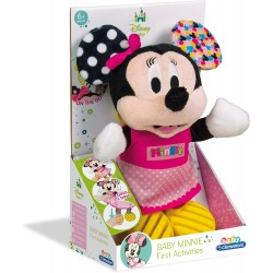 BABY MINNIE MOUSE PELUCHE TEXTURAS