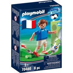 JUGADOR DE FUTBOL FRANCIA 1 PLAYMOBIL 70480