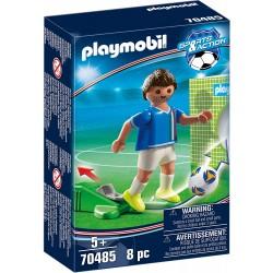 JUGADOR DE FUTBOL ITALIA PLAYMOBIL 70485