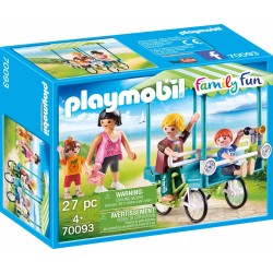 BICICLETA FAMILIAR PLAYMOBIL 70093