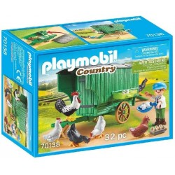 GALLINERO PLAYMOBIL 70138