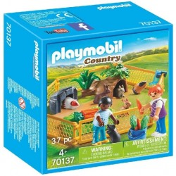 RECINTO ANIMALES GRANJA PLAYMOBIL 70137