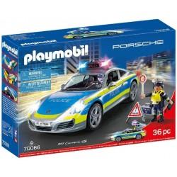PORCHE 911 CARRERA 4S POLICIA PLAYMOBIL 70066