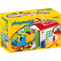 1 2 3 VOLQUETE PLAYMOBIL 70184