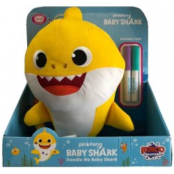 BABY SHARK BABY PINTA Y LIMPIA 30 CMS