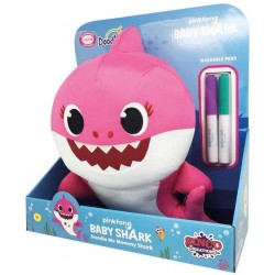 BABY SHARK MOMMY PINTA Y LIMPIA 30 CMS