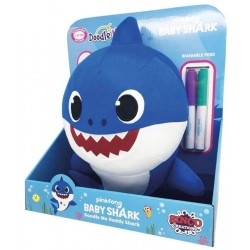 BABY SHARK DADY PINTA Y LIMPIA 30 CMS