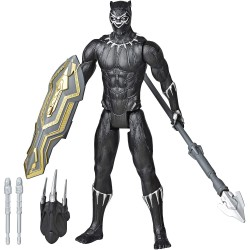 BLACK PANTHER FIGURA TITAN CON ACCESORIOS