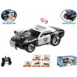 HOT WHEELS POLICE PURSUIT RADIO CONTROL