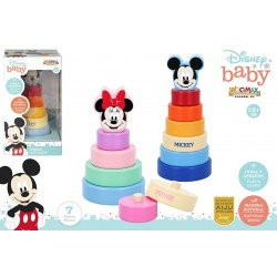 TORRE APILABLES MADERA 20 CMS DISNEY BABY