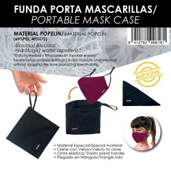 FUNDA PORTA MASCARILLAS