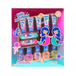 MARTINELIA LITTLE MERMAID SET LABIOS Y UÑAS