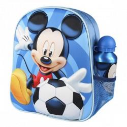 MICKEY MOCHILA INFANTIL 3D CON ACCESORIOS