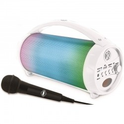 ALTAVOZ BLUETOOTH FLASHBOOM CON MICRO Y LUCES