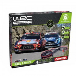 NINCO WRC RALLYE CORSICA CIRCUITO 5 M. CON PUENTE
