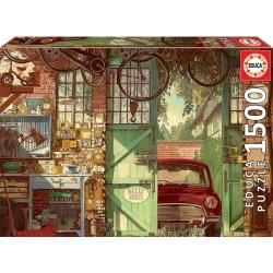 PUZZLE 1500 PIEZAS EL VIEJO GARAGE