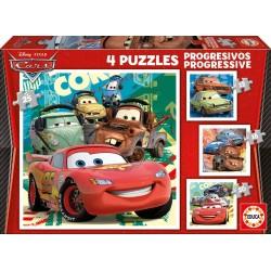 PUZZLES PROGRESIVOS CARS 2
