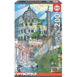 PUZZLE 200 PIEZAS ROMA