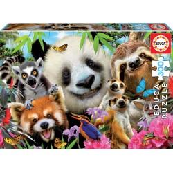 PUZZLE 300 PIEZAS SELFIE ANIMALES