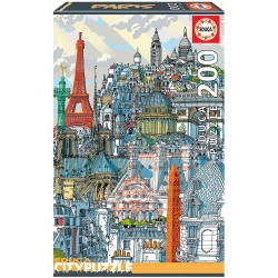 PUZZLE 200 PIEZAS PARIS