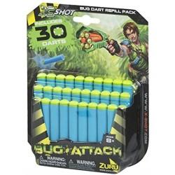 X-SHOT BUG ATTACK BLISTER 30 DARDOS