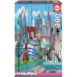 PUZZLE 200 PIEZAS NUEVA YORK