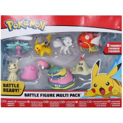 POKEMON PACK DE 8 FIGURAS