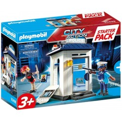 STARTER PACK POLICIA PLAYMOBIL 70498