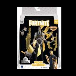 FORTNITE 1 FIGURA MIDAS SHADOW LEGENDARY SERIES