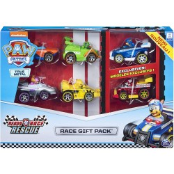 PATRULLA CANINA MULTI PACK RACE AND GO DIECAST