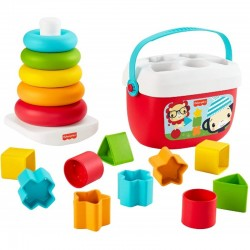 FISHER PRICE PACK ECO PIRAMIDE Y BLOQUES