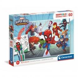 PUZZLE 60 PIEZAS SUPER HERO ADVENTURE