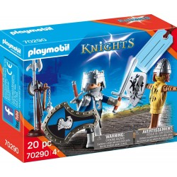 SET CABALLEROS PLAYMOBIL 70290