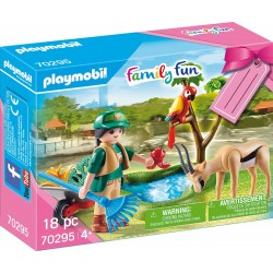 SET ZOO PLAYMOBIL 70295