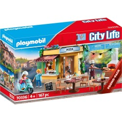 PIZZERIA PLAYMOBIL 70336