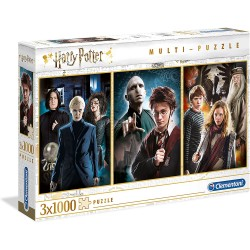 PUZZLE 3 X 1000 HARRY POTTER