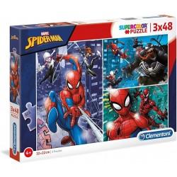 PUZZLE 3 X 48 PIEZAS SPIDERMAN