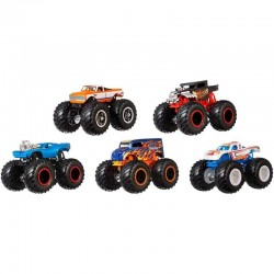 HOT WHEELS MONSTER TRUCK PACK 5 COCHES