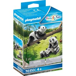 PANDAS CON BEBE PLAYMOBIL 70353