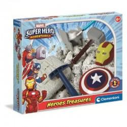 SUPER HERO CAZA DEL TESORO