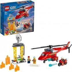 LEGO CITY HELICOPTERO DE RESCATE DE BOMBEROS