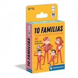 10 FAMILIAS JUEGO DE MEMORIA