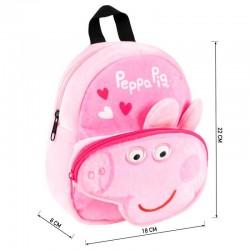 PEPPA PIG MOCHILA PELUCHE 31 CMS