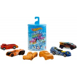 HOT WHEELS COLOR REVEAL - 2 COCHES